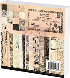 "Almanac Collection 6""x6"" Paper Pad"