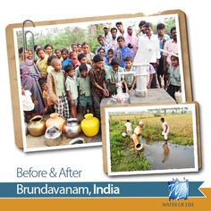 One of the six new wells drilled this February in India- this one in Brundavanam- giving 1,600 Indians clean, disease-free water! Once reliant on a polluted canal, this Untouchables village has been shown the love of Jesus in this brand new water source. Thank you!  http://givefreshwater.org/india