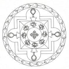 Tibetan Mandala | See: bibliodyssey.blogspot.com/2012/04/wor… | Flickr