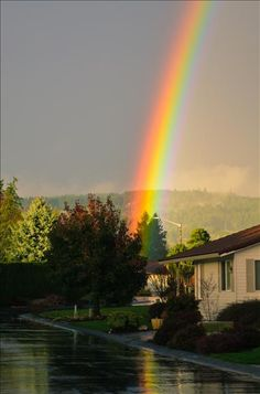 Newberg Oregon Rainbow 12 10 14