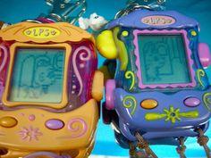 Littlest Pet Shop Monkey Cat LPS Electronic Virtual Digital Pet EUC Lot 2 Game #Hasbro