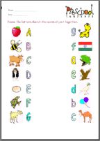 letter recognition age print numbers 1 10 pre k worksheets phonics literacy 6505