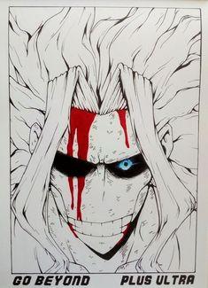 Manga Drawing, Manga Art, Manga Anime, Dark Drawings, Cool Drawings, Hero Academia Characters, My Hero Academia Manga, T Art, Diy Canvas Art