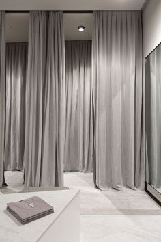 Grey tones. Designer unknown.