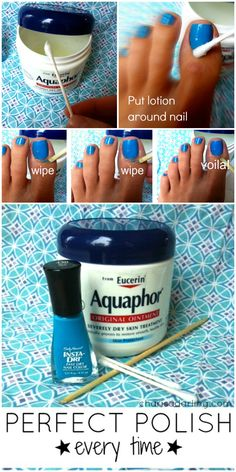 Pinspiration: Nail guides that will make your life much easier - HEDONISTIT pedicure at home Pedicure Tips, Pedicure At Home, Manicure Y Pedicure, Home Pedicures, Pedicure Colors, Diy Nails At Home, Manicure Ideas, Nail Care Tips, Nail Tips