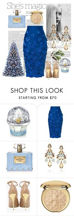 """""""Untitled #88"""" by alina2177 ❤ liked on Polyvore featuring Nicole, GE, House of Sillage, Ermanno Scervino, Versace, Diego Percossi Papi, Balmain and Christian Dior"""