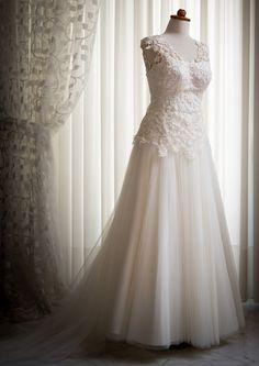 Sur-Mesure Wedding Dress by Megla-m