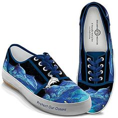 Protect Our Oceans Women's Dolphin Shoes