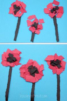 Torn Poppy Craft Torn Flower Craft ~ Veteran's Day or Reme. Torn Poppy Craft Torn Flower Craft ~ Veteran's Day or Reme. Torn Poppy Craft Torn Flower Craft ~ Veteran's Day or Reme. Poppy Craft For Kids, Art For Kids, Crafts For Kids, Remembrance Day Activities, Remembrance Day Poppy, Daycare Crafts, Preschool Crafts, Wreath Crafts, Flower Crafts