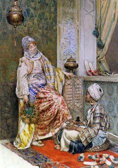 Osmanlı Kadın Tablo - ory 4296
