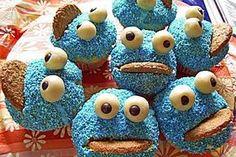 Krümelmonster - Muffins siehe auch Kommentare, ev weniger Backpulver?