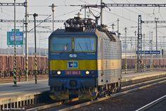 Czech Republic - CD Cargo 363 004 in Ostrava-Svinov on April 15, 2013