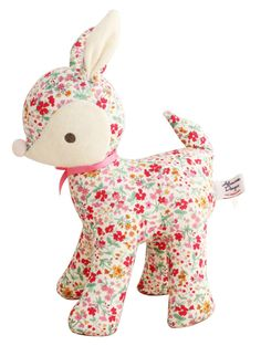 Image of Alimrose Deer Toy - Flower Bouquet Deer Stuffed Animal, Pineapple Gifts, Best Baby Toys, Rose Girl, Little Unicorn, Beautiful Baby Girl, Baby Deer, Toddler Gifts, Newborn Gifts