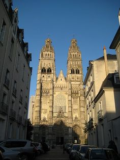 Cathedral in Tours, Loire Valley