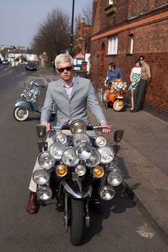 The Mods are Here: A Vespa Subculture and Lifestyle. Mod Scooter, Lambretta Scooter, Vespa Scooters, Urban Tribes, Rude Boy, Motor Scooters, 60s Mod, Mod Fashion, Way Of Life