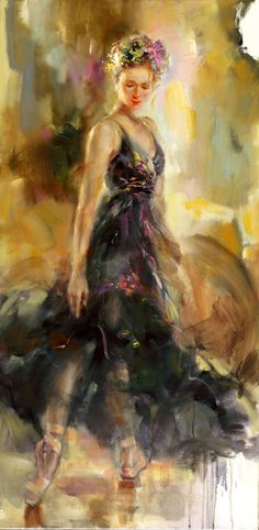Anna Razumovskaya. Would look good against our plum walls