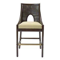 McGuire Furniture: Barbara Barry Caned Bar/Counter Stool: No. Baker Furniture, Rattan Furniture, Find Furniture, Unique Furniture, Home Furniture, Cool Bar Stools, Counter Bar Stools, Kitchen Stools, Kitchen Island