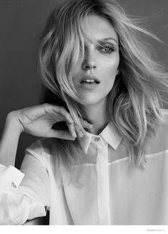 Anja Rubik by Hunter & Gatti for Massimo Dutti The 689 Avenue Collection FW 2014 ad campaign Anja Rubik, Beauty Photography, Portrait Photography, Fashion Photography, Carpe Diem, Miss Noir, Portraits, Pretty Woman, Style Guides