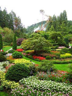Butchart Gardens, Victoria Vancouver Island