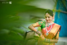 Beautiful south indian bride.