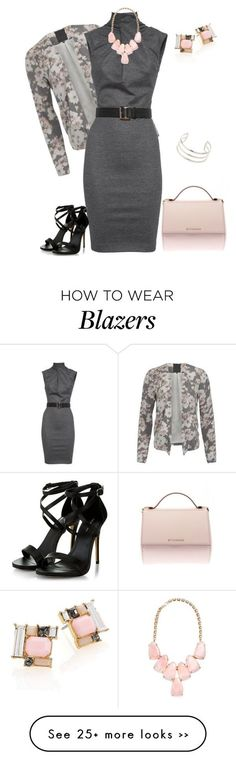 """outfit 2267"" by natalyag on Polyvore featuring Givenchy, ONLY, Dsquared2, Kate Spade, Kendra Scott and Topshop"
