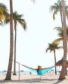 Quer ver sua foto aqui? Use #ArubaEssaIlhaPega #regram @betina.neves Sombra e água fresca ✌🏼️ Palm Beach é a praia principal de Aruba, onde está a maioria dos hotéis. Mas vale a pena sair dali pra ver faixas de areia sem prédios atrás, como Arashi Beach e Baby Beach. #onehappyisland #arubaessailhapega @aruba_br