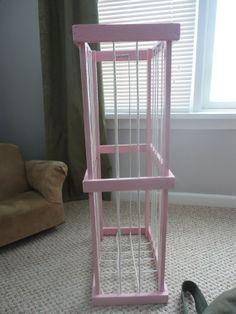 Stuffed Animal Storage To be made in hot pink by ByFolks on Etsy, $23.50