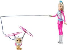 Mattel Barbie DWD24 - Barbie und fliegende Katze