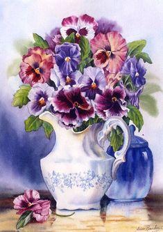 floralart.quenalbertini: Flowers by Ann Breckon   facilisimo