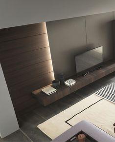 Instagram Frame, Design Moderne, Cuisines Design, Living Room Lighting, Tv Unit, Apartment Interior, Interior Lighting, Interiores Design, Interior Inspiration
