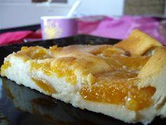 Gâteau light au fromage blanc 0% et abricots - Le blog de Maïté