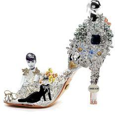 If Audrey was a shoe...