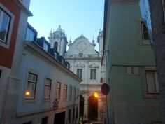 Em Lisboa