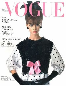 Jean Shrimpton ~ Vogue US, April 15 1963