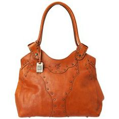 Sales Frye - Vintage Stud Shoulder Bag (Cognac Vintage Veg Tan) - Bags and Luggage price - Zappos is proud to offer the Frye - Vintage Stud Shoulder Bag (Cognac Vintage Veg Tan) - Bags and Luggage: Indulge in the utterly elegant style of this gorgeous hand-crafted bag.