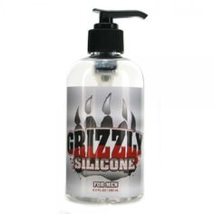 Grizzly Silicone For Men: The finest premium silicones available are blended into an advanced formula for exceptional glide and slickness. Grizzly Silicone makes every caress a delightful and sensual encounter. Designed to be incredibly long lasting, velvety smooth, waterproof and latex safe. Always friction free and never sticky.