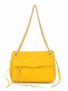 Ostrich Embossed Swing from Rebecca Minkoff