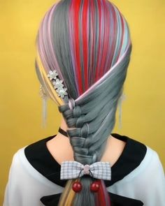 Ballet Hairstyles, Braided Hairstyles, Cool Hairstyles, Hair Tips Video, Long Hair Tips, Hair Color Placement, Hair Up Styles, Hair Color Techniques, Hair Color Balayage