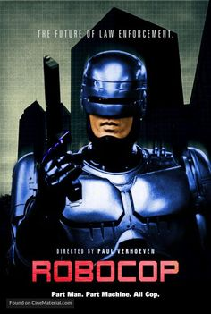 "Robo Cop Movie Scene 13/"" x 19/"" Action Figure Backdrop Photo Poster"