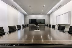 office meeting board feature interactive boardroom corporate rooms designs tv screen backgrounds cool interior wallpapers designer desk interiors power projection