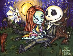 *ZERO, SALLY & JACK SKELLINGTON ~ Nightmare before Christmas, 1993