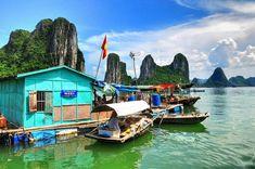 Плаващо село