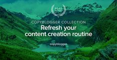 This week's Copyblogger Collection is a series of three handpicked articles that reveal techniques that expand the types of content you offer your audience.