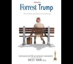 Donald Trump: As piadas e os cartazes de cinema