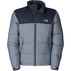 Amazon.com   The North Face Nuptse Down Jacket - Men s Vanadis Grey  Heather Vanadis Grey 6b4ed94e8