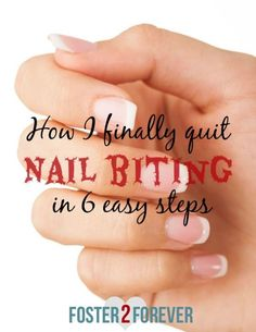 I did it! I finally broke my bad habit that I had since I was a small child! Since I was very young, Ihad beenbiting mynails. I have struggled for decades to breakthe bad habit of biting my nails. I tried everything to break my bad habit of biting my nails:Band-Aids, manicures, acrylic nails, gel …