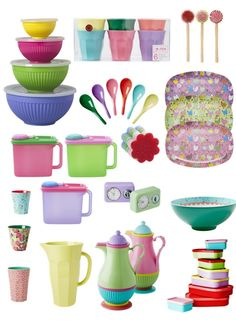 Colorful products of the danish brand Rice #kitchen #tableware #bohemian
