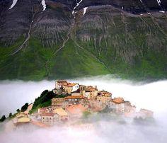 Mount Sibillini in Italy