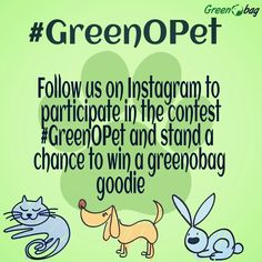 follow #GreenoBag on instagram @GREENOBAGINDIA and participate in the contest