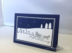 The Craft Spa - Stampin' Up! UK independent demonstrator : Sleigh Ride - Jingle All the Way